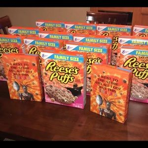 Travis Scott x Recess Puffs Limited Cereal